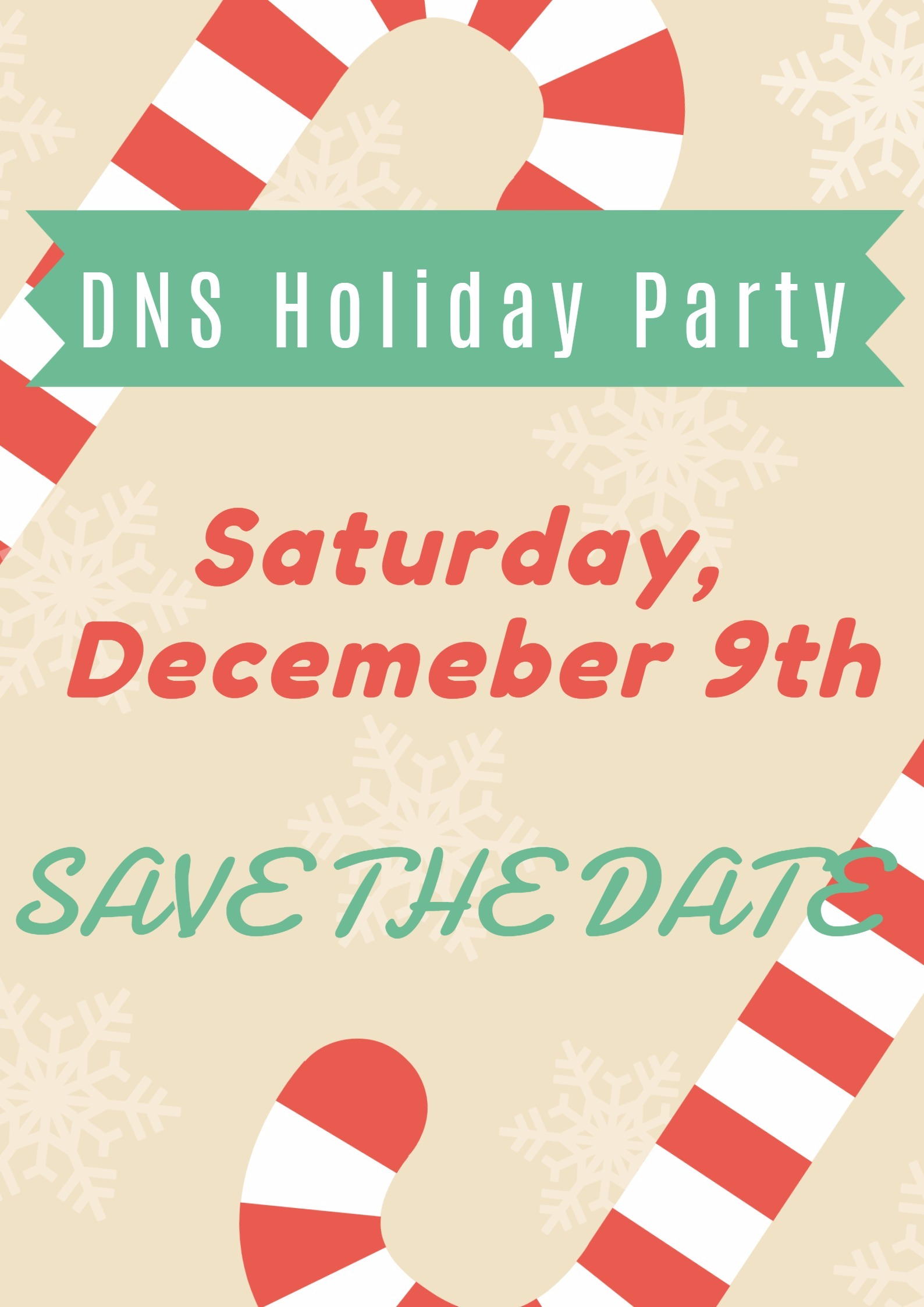 SaveTheDate - DNS Holiday Party1