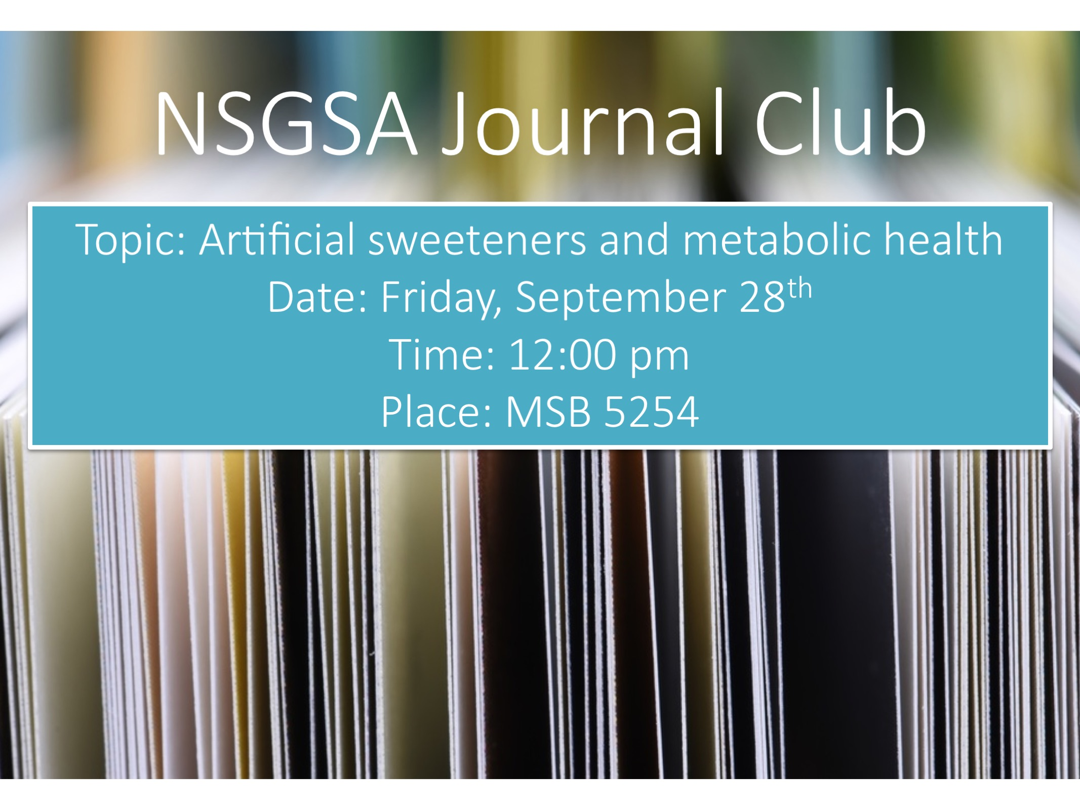 Journal club ad