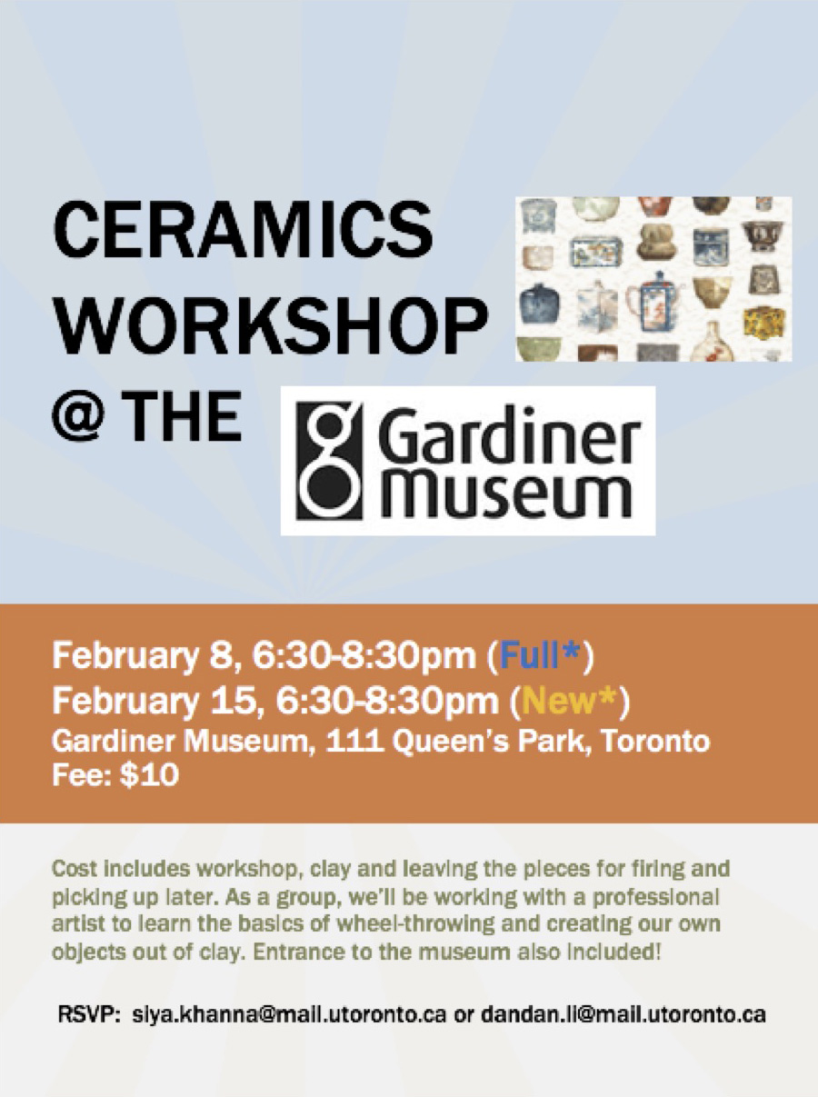 Ceramics Workshop Feb 15